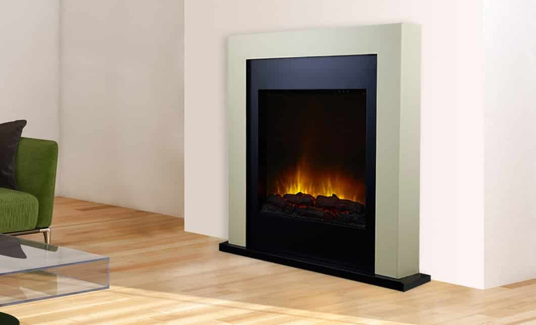 Decorative electric fireplace chemin 39 arte for Cheminee decorative