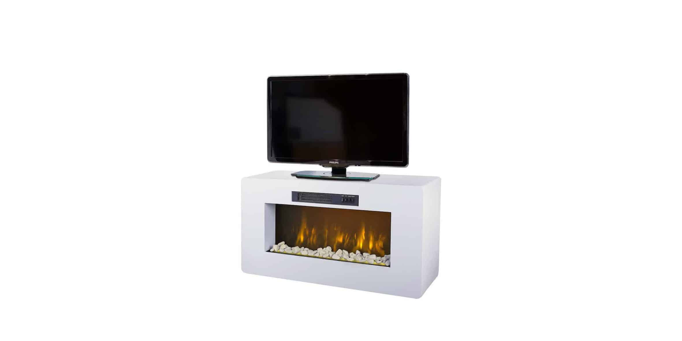 Decorative electric fireplace chemin 39 arte for Decoration 30m2