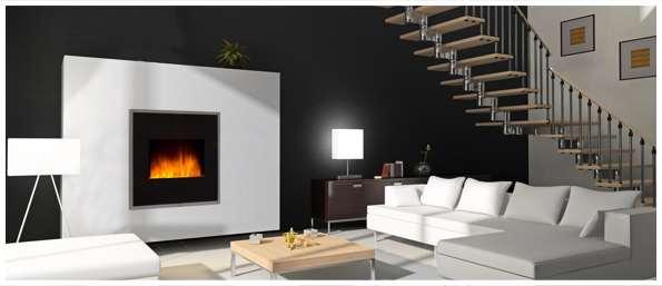 soir e merveilleuse avec les fausse chemin e lectrique chemin 39 arte. Black Bedroom Furniture Sets. Home Design Ideas