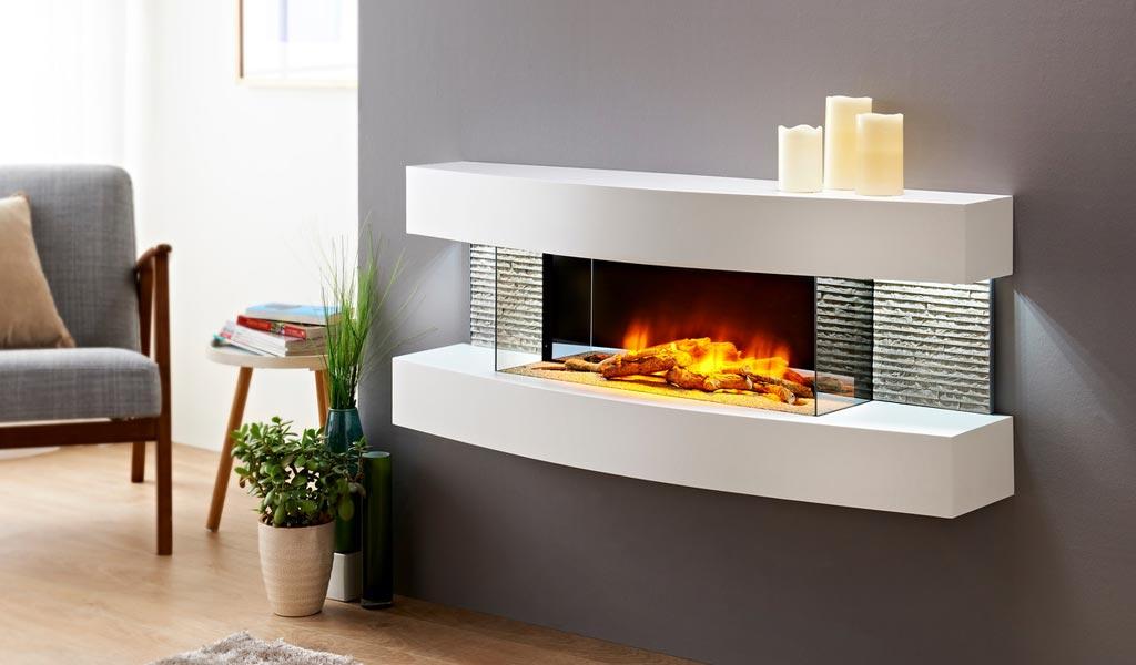Design lounge cheminée Chemin'Arte