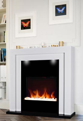 Chemin'Arte Electric fireplace en situation