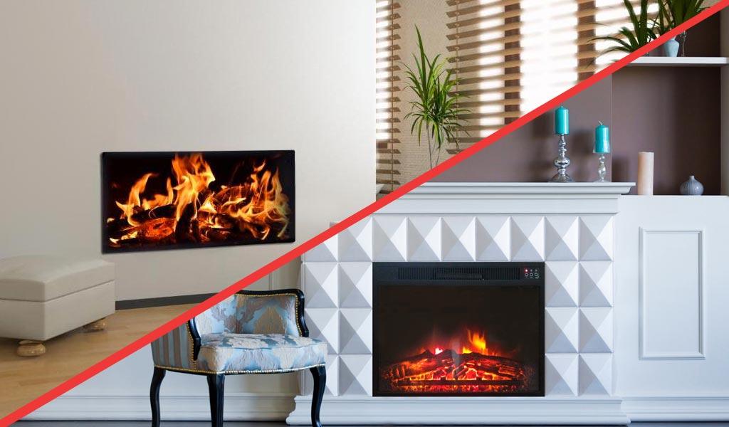 Une cheminée électrique ou un radiateur décoratif, parfait pour une nouvelle déco